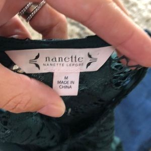 Nanette Lepore Tops - Nanette Lepore Lace Top